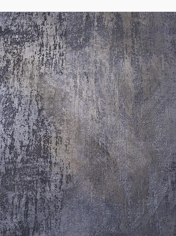 Rivestimento camino in resina e calce, grafite e alluminio in polvere. Collezione camini.